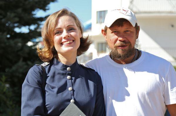 Анна Миклош и Анатолий Гущин