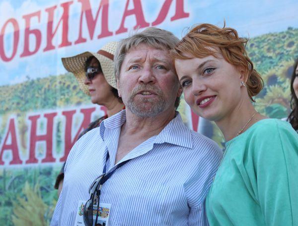 Актеры Семен Михайлович Морозов и Александра Афанасьева-Шевчук