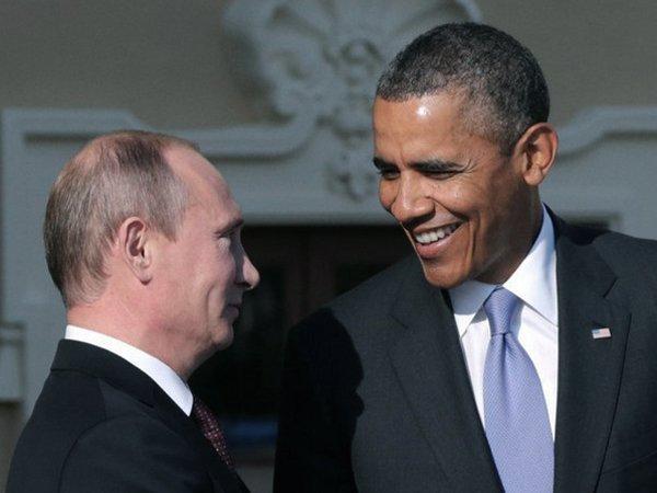 Владимир Путин встретился сБараком Обамой