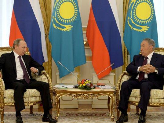 Путин прибыл встолицу Казахстана, где встретится сНазарбаевым