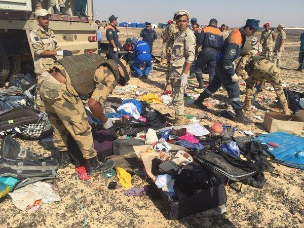 Египет предоставит данные о изучении смерти А321
