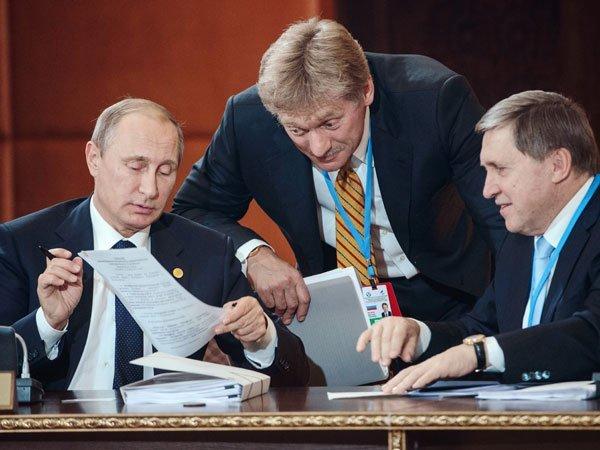 Кремль объявил оботказе украинской столицы отДонбасса