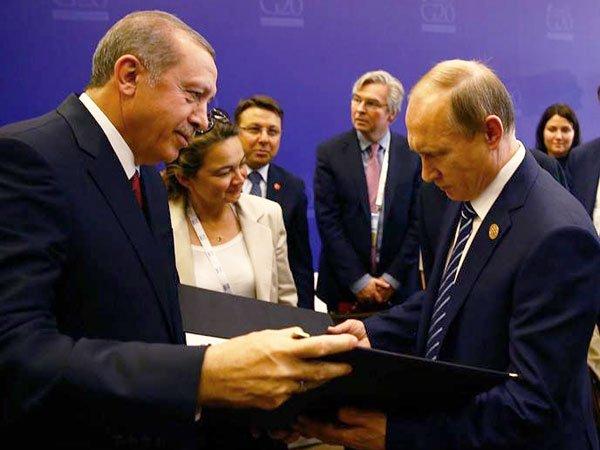 Путин иЭрдоган обсудили объявление Анкары онамерении свергнуть Асада