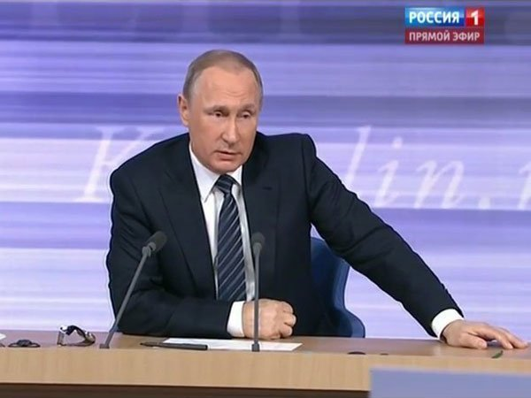 Российская Федерация несобирается вводить вотношении Украинского государства какие-то санкции— Путин