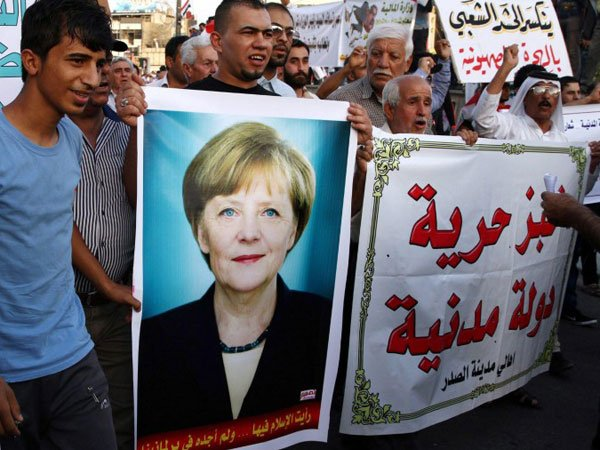 Меркель взяла насебя ответственность запровал навыборах насевере Германии