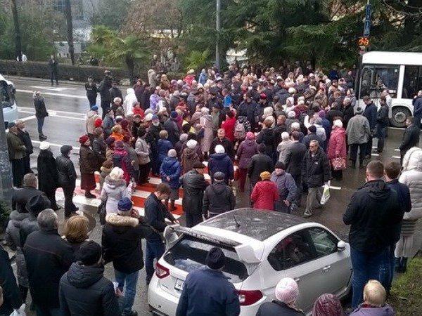 Севастополь военные пенсионеры 2014