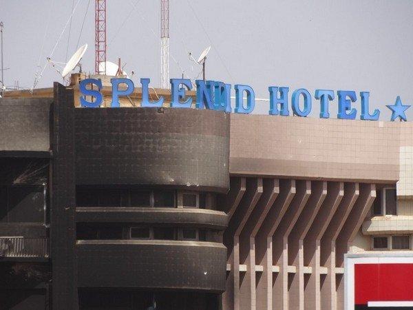 Отель Splendid после теракта в Буркина-Фасо