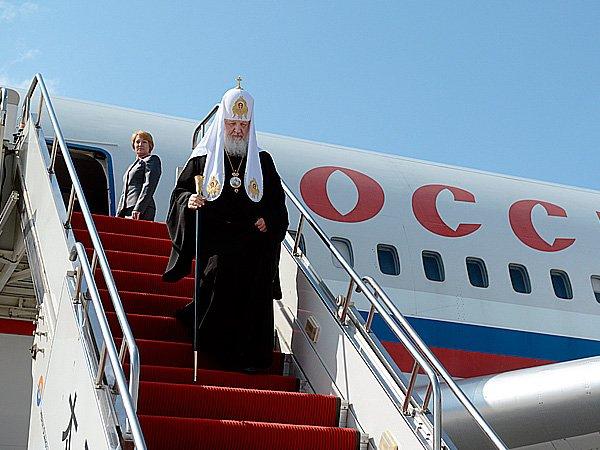 Патриарх Кирилл начинает трехдневный визит в Бразилию