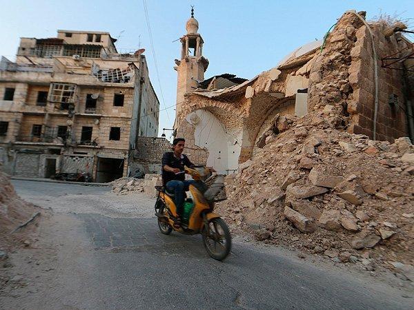 Сирия. Улицы города Алеппо