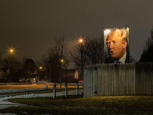 Русские каналы ссередины февраля стали менее упоминать Трампа