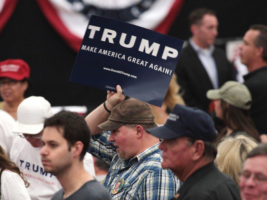 Трамп выступил спервой речью после победы навыборах президента США