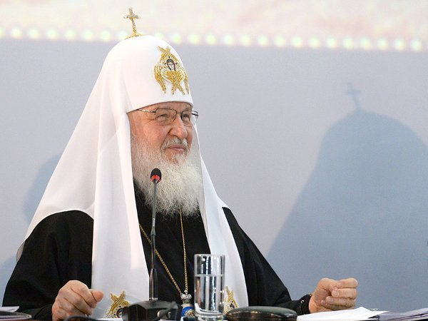 Законы наЗападе оправдывают безнравственное— Патриарх Кирилл