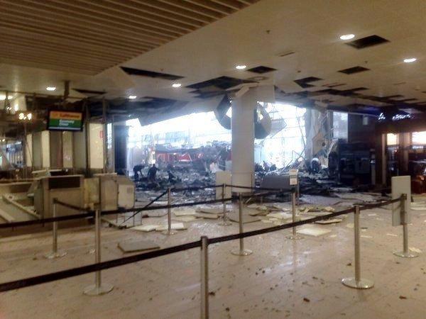 Аэропорт Брюсселя возобновит работу не прежде  27марта