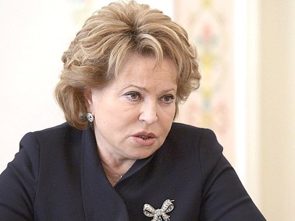Валентина матвиенко член кпрф
