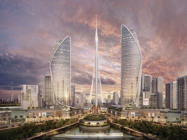 самое высокое здание дубай