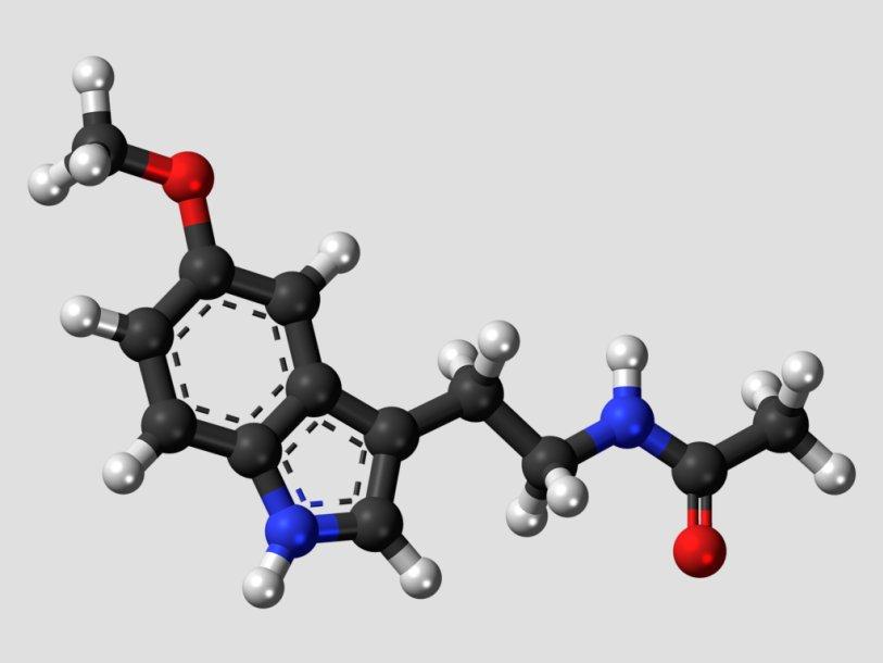Молекулярная структура мелатонина