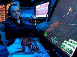 Авиадиспетчер за работой