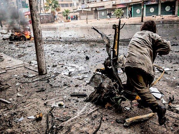 Армия Сирии контролирует 93% территории Алеппо