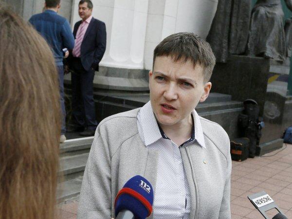 Надежда Савченко вышла натропу войны исоздала свою партию