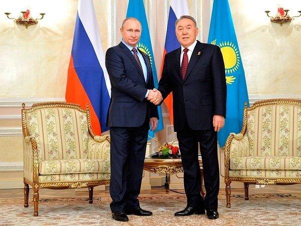 Путин иНазарбаев посетили лабораторию, разрабатывающую препараты против старения