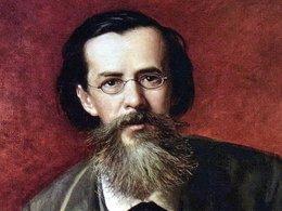 В. Г. Перов. Портрет А. Н. Майкова. 1872.