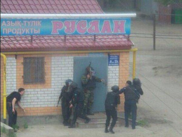 Стрельба вАктобе: четырех человек устранили исемерых задержали