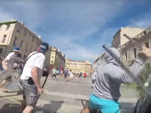 Три российских фаната получили тюремные сроки после беспорядков вМарселе