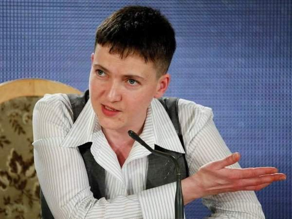 Савченко обнародовала списки русских военных, расположившихся вукраинских СИЗО