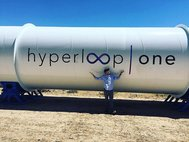Проект Hyperloop One. Невада, 12 мая 2016