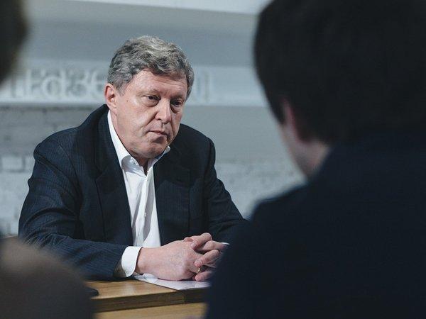 Явлинский убедил Якубовича пропустить Митрохина в мэры Москвы
