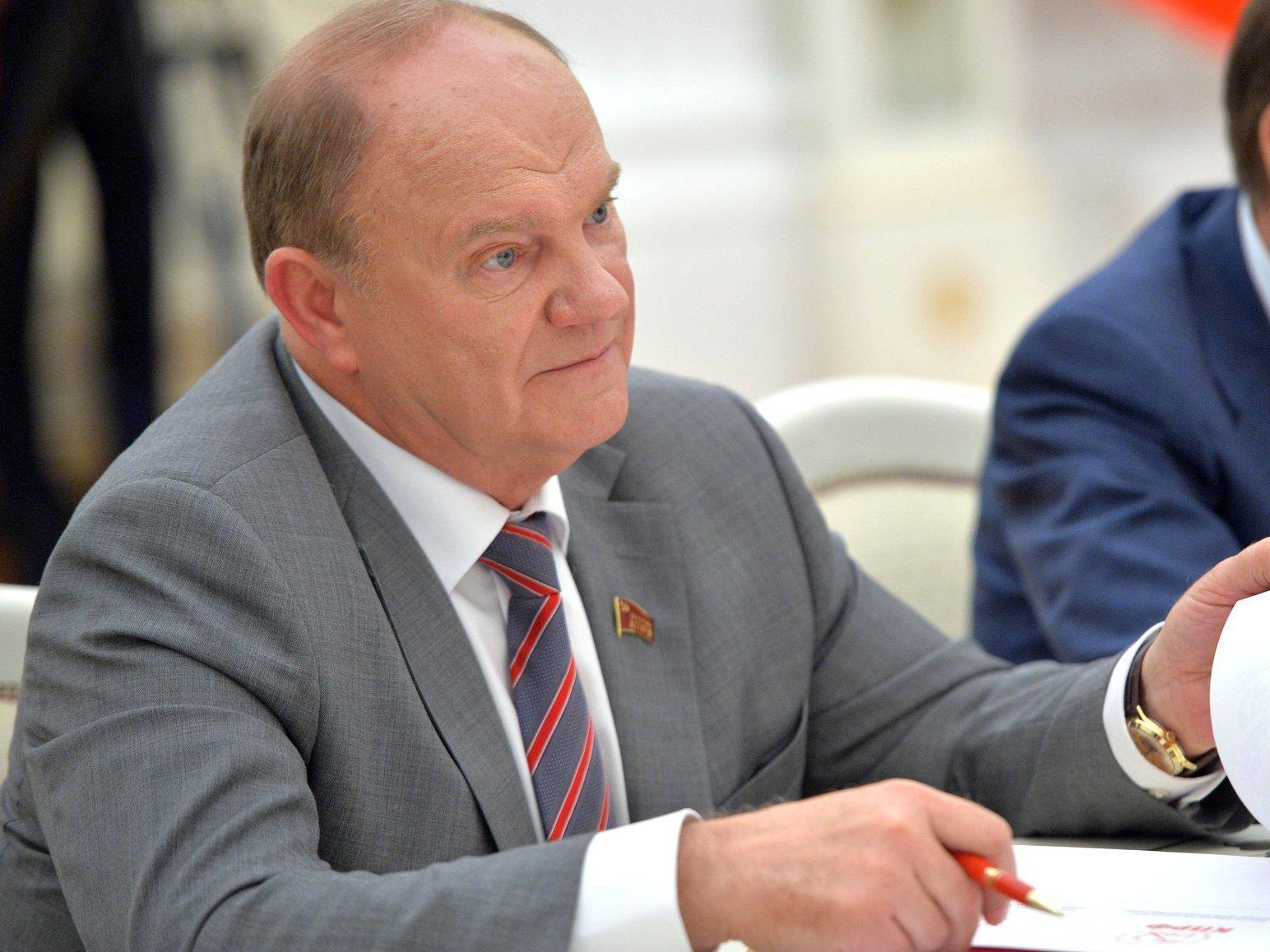 Зюганов пожаловался Путину наголосовавших за«Яблоко» иПАРНАС жителей столицы