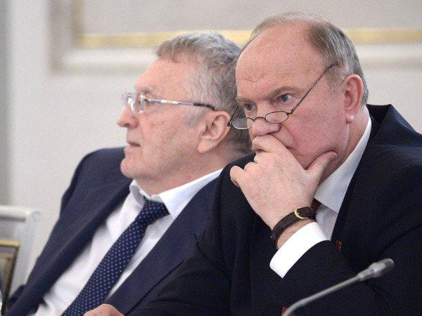 Путин победил вовсех областях РФ поподсчетам КПРФ— Зюганов