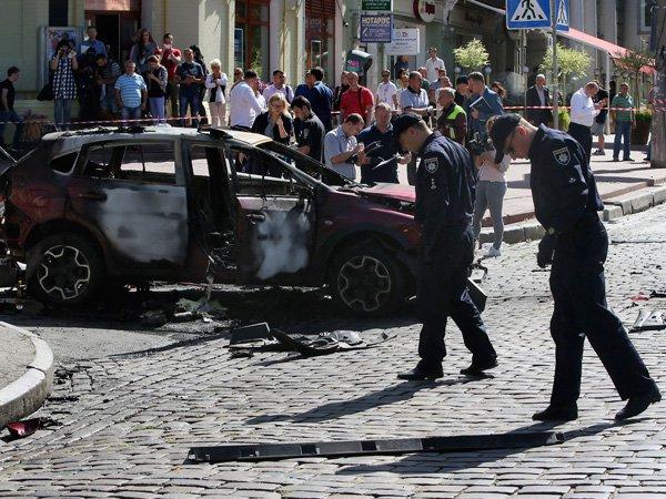 Вубийстве корреспондента Шеремета вУкраинском государстве ненашли ниграмма теракта