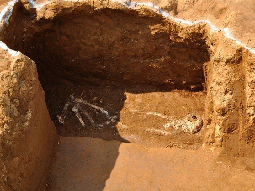 Останки Джованни Сидотти на месте обнаружения