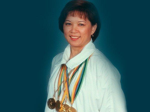 Советская гимнастка Нелли Ким