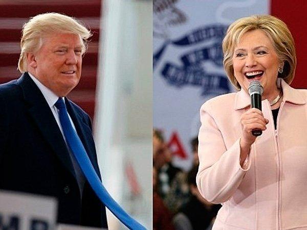 Хиллари Клинтон увеличила отрыв отДональда Трампа до6 процентных пунктов— Опрос