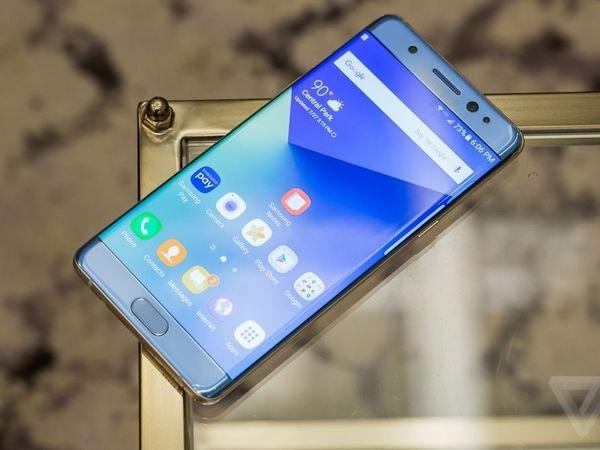 Аккумуляторы Самсунг Galaxy Note 7 перегревались из-за своеобразных размеров