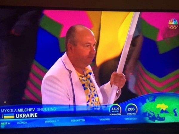 Нацеремонии открытия Олимпиады вРио организаторы четко показали, чей Крым