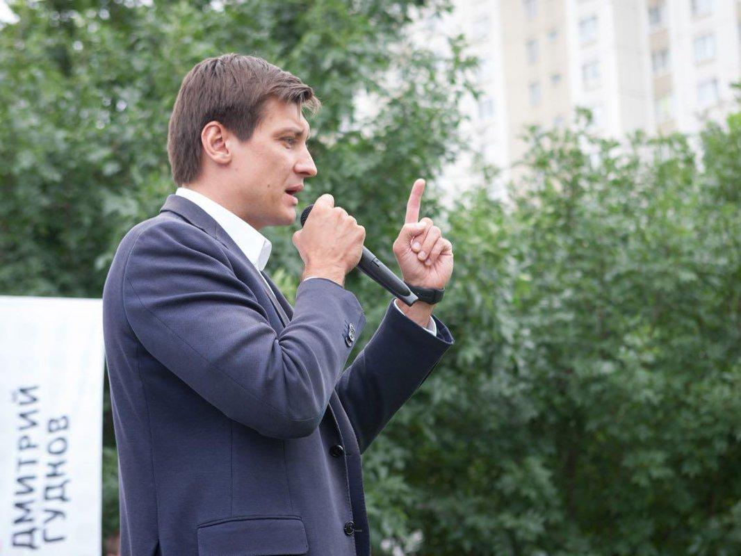 Дмитрия Гудкова отказались регистрировать кандидатом вмэры столицы