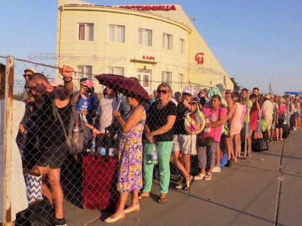Украинца воккупированном Крыму задержали из-за «неправильной» книжки