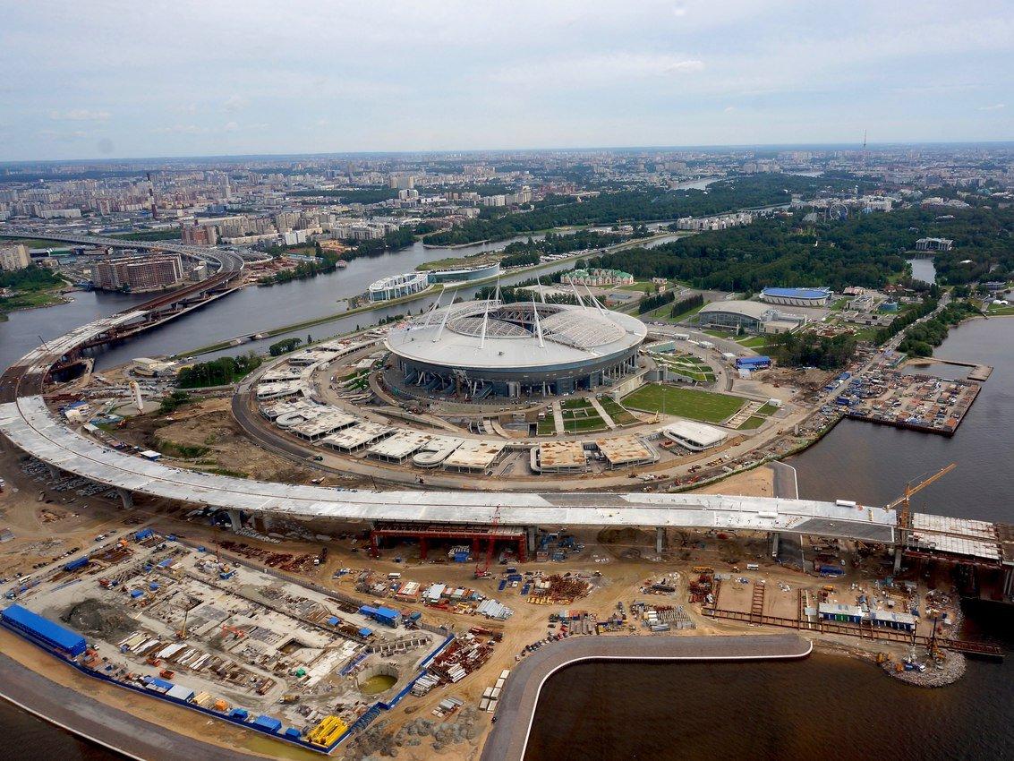Суд оставил без движения 2-ой иск прежнего генподрядчика стадиона вПетербурге