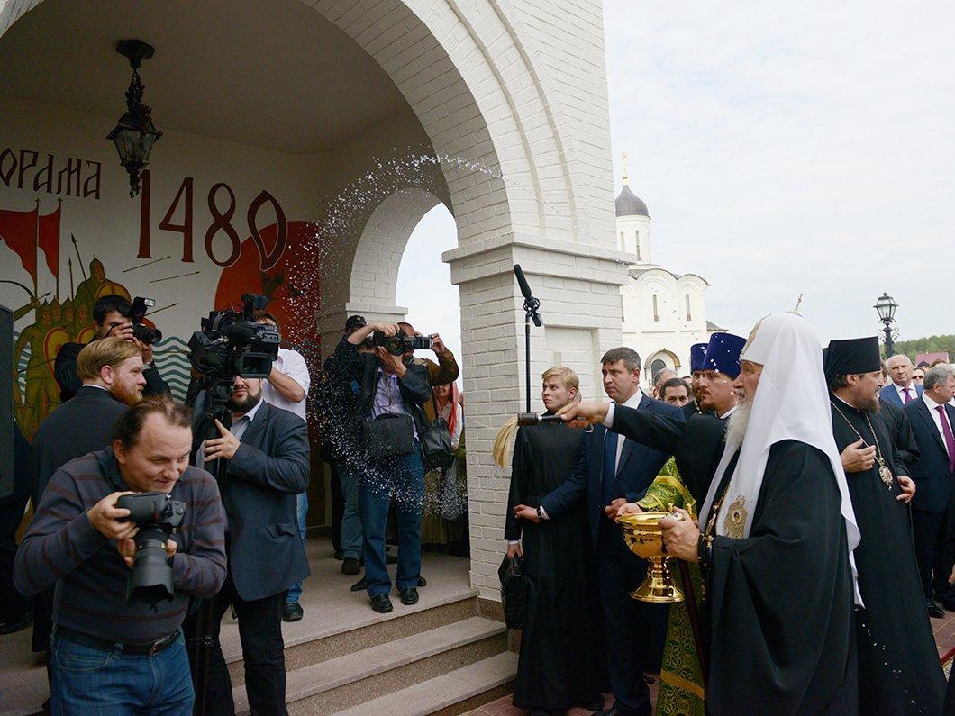ВРПЦ сочли стикеры спатриархом вTelegrame небезопасными для общества