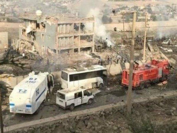 ВТурции около здания милиции произошел взрыв