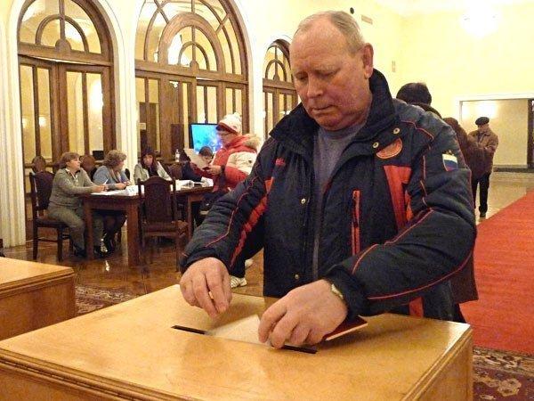 Голосование в Ереване на выборах президента РФ в марте 2012 года