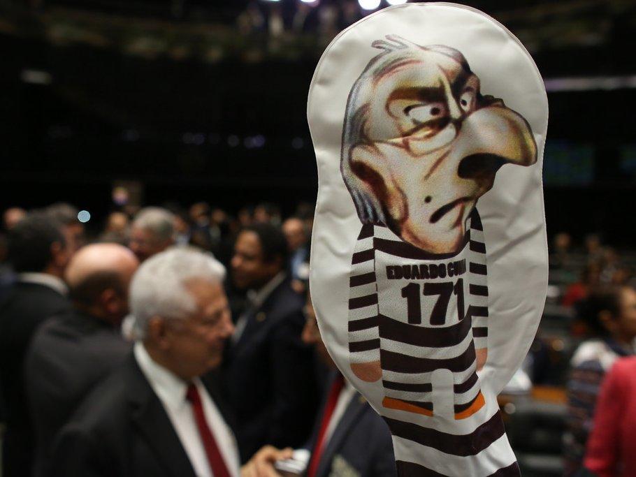 ВБразилии лишили мандата инициатора импичмента Роуссефф