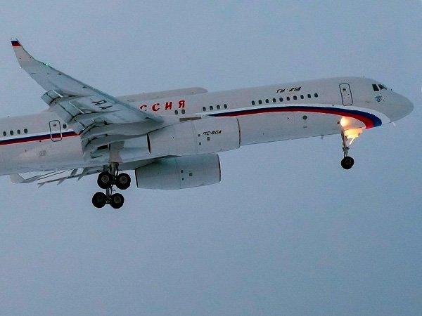 ВВашингтоне приземлился отправленный задипломатамиРФ самолет