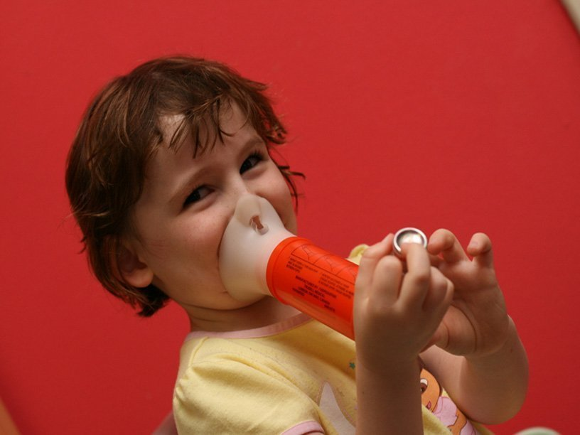 the controllable asthma in children