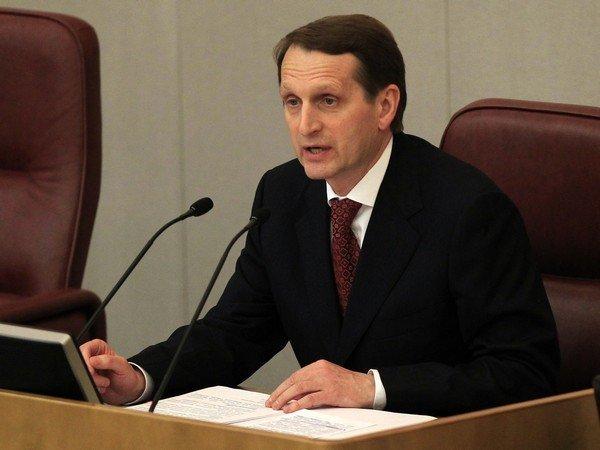 Сергей Нарышкин назвал выборы в Государственную думу состоявшимися