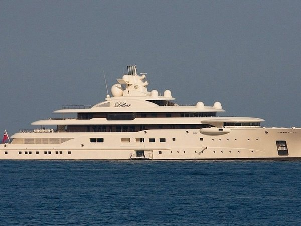 Алишер Усманов выставил на реализацию 110-метровую яхту Ona