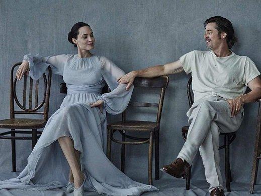 Анджелина Джоли иБрэд Питт разводятся из-за ссоры ссыном